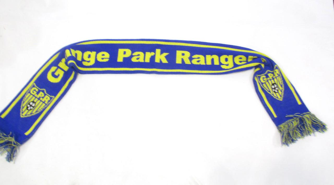 34b8fd4dec58 Шарф болельщика Grand Park Rangers, England, 15x150 см, Акрил, Как ...