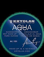 Зеленый аквагрим AQUACOLOR 8мл(оттенок GREEN 42)