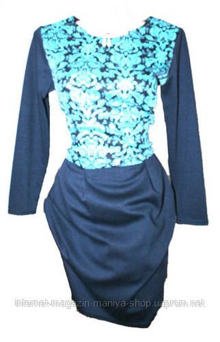 Платье женское трокотаж
