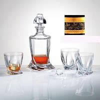 Набор для виски 7пр Quadro Bohemia 99999-99A44-480-43081