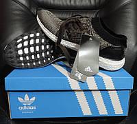 Кроссовки мужские Адидас (Adidas Ultra Boost) реплика, фото 1