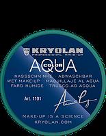 Зеленый  аквагрим AQUACOLOR 8мл(оттенок GREEN 21)