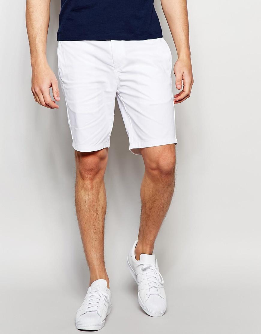Белые мужские  шорты