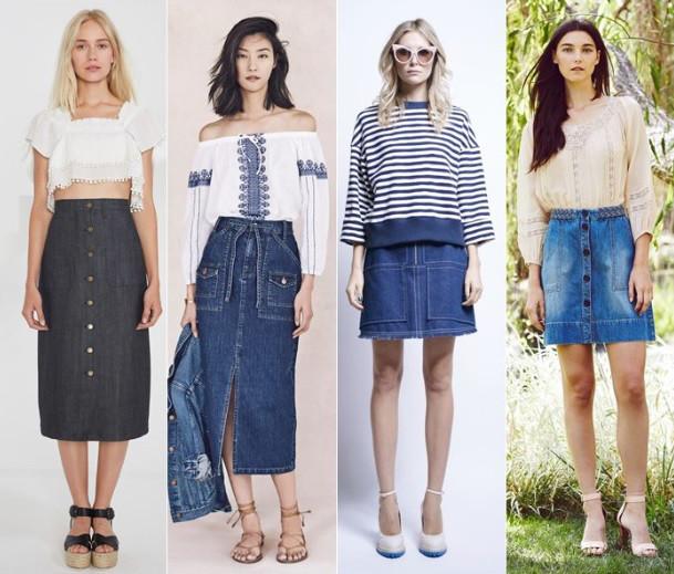 Одежда из плотной джинсовой ткани