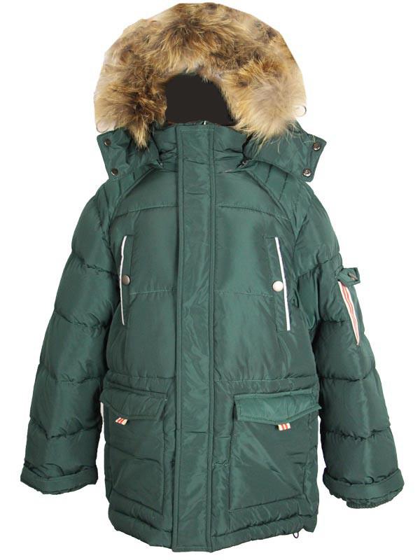 Детская куртка зимняя для мальчика 6 лет New Soon