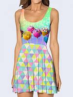 Платье Чупа-чупсы Код:15097