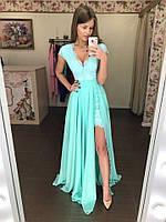 """Женское нарядное платье """"Покахонтес"""" со съемной юбкой"""