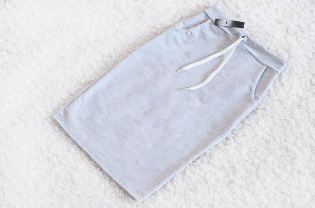 Спортивная юбка Ketty серая (код 049), фото 2