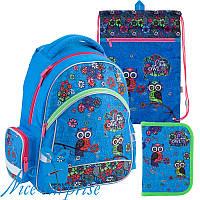 Школьный набор для девочки Kite Pretty owls K18-521S-1 (1-4 класс)