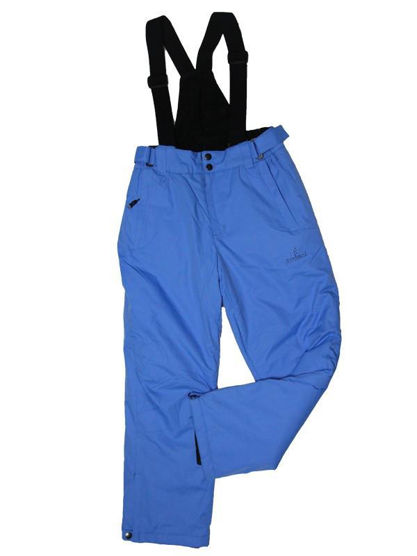 Детский зимний полукомбинезон термо Snowest голубой 10-12 лет