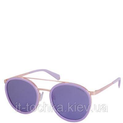 Солнцезащитные женские очки с ультралегкими поляризационными  зеркальными линзами polaroid p6032s-35j53mf