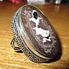"""Красивый перстень с септарией  """"Мерлин"""", размер 19,4  от студии LadyStyle.Biz"""