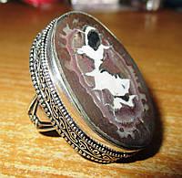 """Красивый перстень с септарией  """"Мерлин"""", размер 19,4  от студии LadyStyle.Biz, фото 1"""