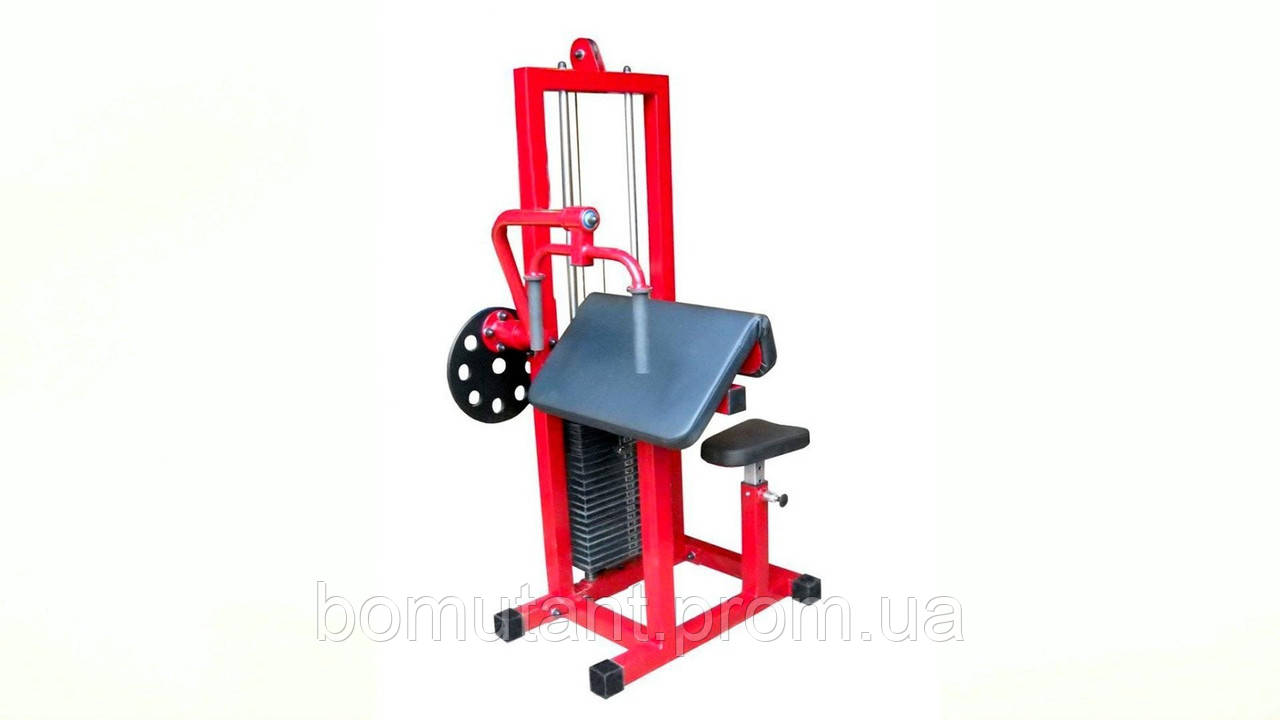 Трицепс машина (грузоблочный 80 кг) B017