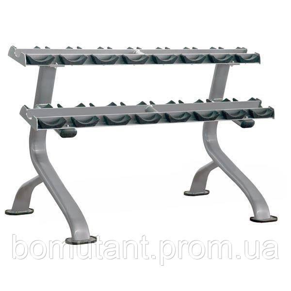 Стойка для гантелей 8 пар гантелей IMPULSE Dumbbell Rack