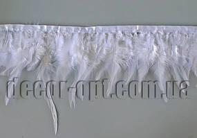 Перо-юбка белая 8-13см/45-47см