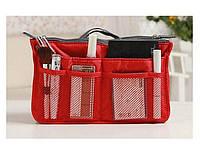Многофункциональный Органайзер в сумку Bag in Bag (Красный)