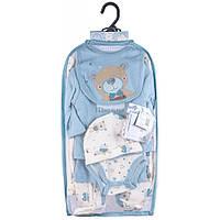 Набор детской одежды Luvena Fortuna для мальчиков подарочный 7 предметов (G8314.6-9)