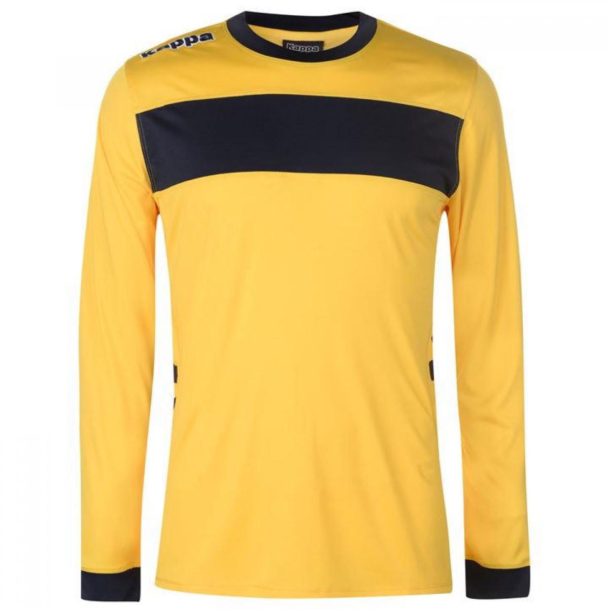 492a6d8e7931 Лонгслив Kappa Remilio Long Sleeve Yellow Black - Оригинал — в ...