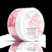 Соль для маникюра с розовым маслом - СПА коллекция