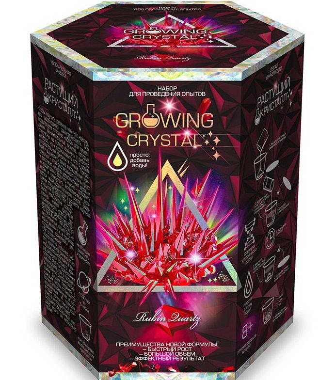 Набор для опытов GROWING CRYSTAL GRK-01 Растущие кристаллы