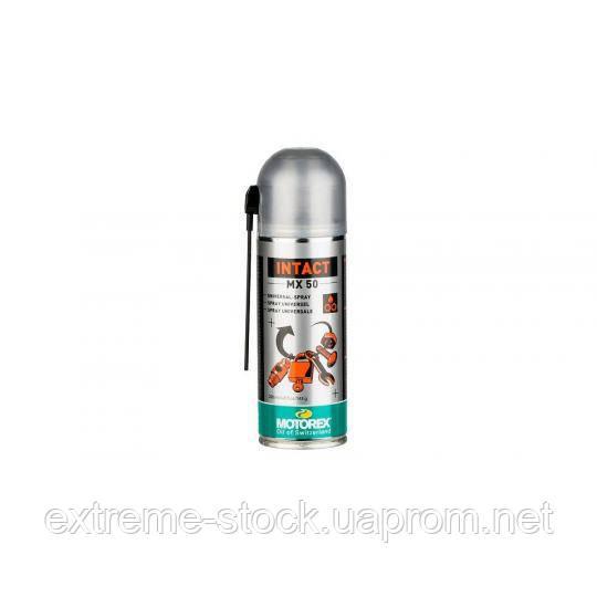Универсальная смазка-спрей Motorex Intact MX50, 200 ml