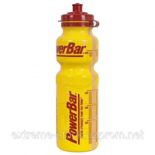Фляга PowerBar (ver.2), жёлтая, 750 ml, пластик