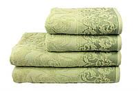 Махровое полотенце Supreme оливковое LightHouse (70*140)