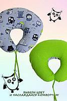 Подушка для беременных и кормящих мам Рогалик Совы