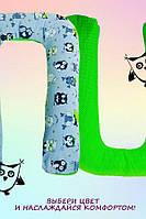 Подушка для беременных и кормящих мам Удав Забавные Совы