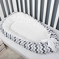 Гнездышко-кокон для ребенка, позиционер, люлька, babynest, переносная кроватка, защита - бортики