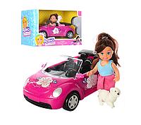 Детская кукла.Игрушечная кукла с машиной.Детская игрушка кукла.
