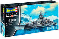 Корабель Tirpitz, 1:1200, Revell (05822)