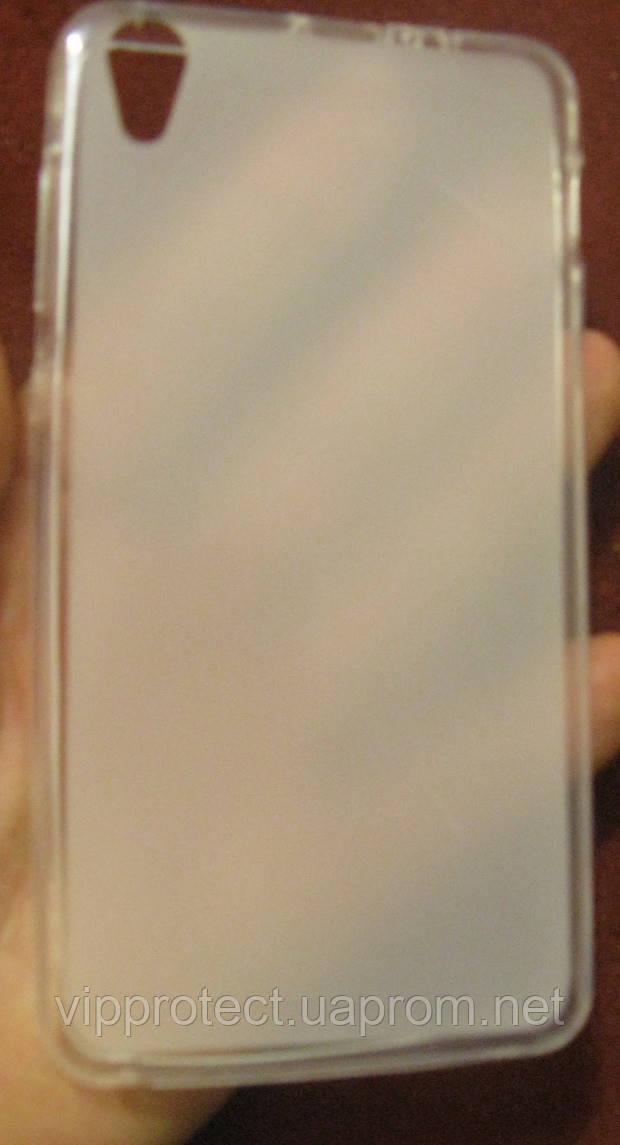 Lenovo S850, белый_силиконовый чехол