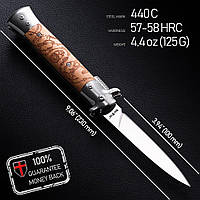 Складной нож Стилет + экспертное заключение, фото 1