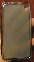 Lenovo S850, черный_силиконовый чехол, фото 1