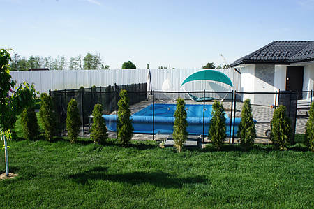 Забор для бассейна Шилд