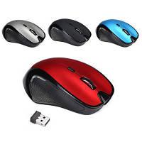 Беспроводная геймерская Мышка JEDEL W-400 2.4Ghz на 6 кнопок 1600/2400 dpi