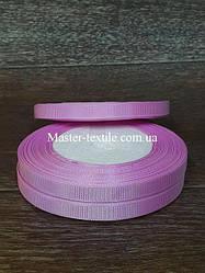 Репсова стрічка ширина 1 див., 25 ярдів (рожевий)