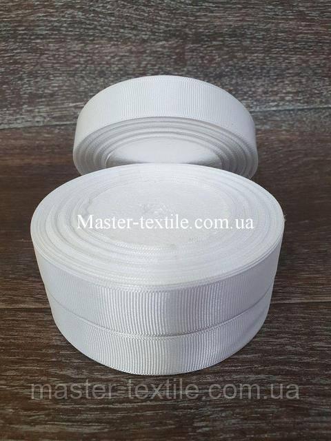 Репсовая лента ширина 2 см., 25 ярдов (белый)