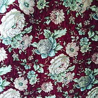 Мебельная ткань Гобелен Бельгия Оригинал ширина 150 см сублимация 2028-бордо, фото 1