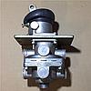 Кран тормозной 2-секц. МАЗ КрАЗ КАМАЗ главны тормозной 100-3514008 (пр-во г.Рославль)