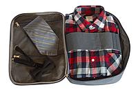 Органайзер для рубашек на 3шт для путешествий ORGANIZE C020 серый, фото 1