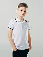 Футболка - поло для мальчика ТМ Смил арт. 114594 возраст 11 - 14 лет