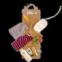 Подвесной органайзер для шкафчика в детский сад ORGANIZE E002 бежевый, фото 1