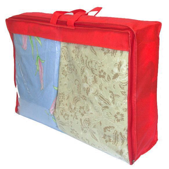 Сумка для хранения вещей\сумка для одеяла S ORGANIZE HS-S красный, фото 1