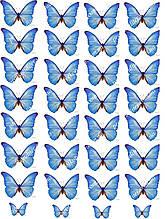 "Вафельная картинка ""Бабочки"" - 2"
