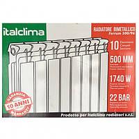 Биметаллические радиаторы отопления  ItalClima 96*500 (Италия)