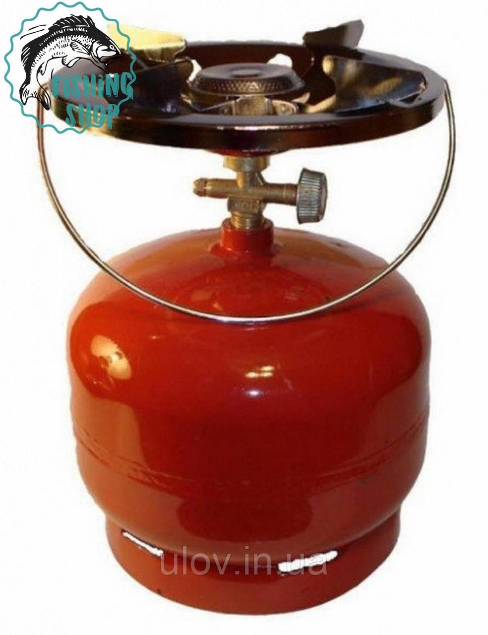 Газовый баллон с горелкой на 8 литров