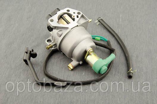 Карбюратор с электроклапаном для генераторов 5 кВт - 6 кВт., фото 2